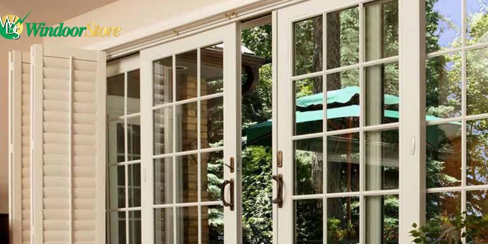 patio doors, Hinged french doors, Sliding patio doors,